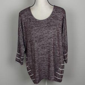 Market & Spruce Stitch fix dolman sleeve blouse